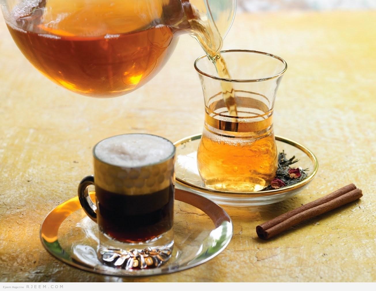 """Photo of تناول القهوة والشاي يجنبك """"أمراضا خطيرة"""""""