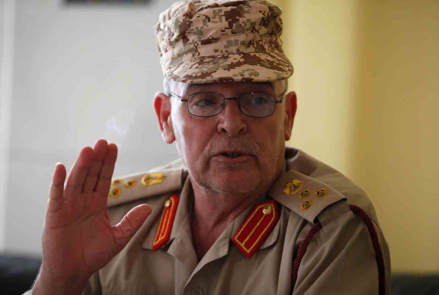 الناطق باسم وزارة الدفاع التابعة لحكومة الوفاق الوطني، العميد محمد الغصري