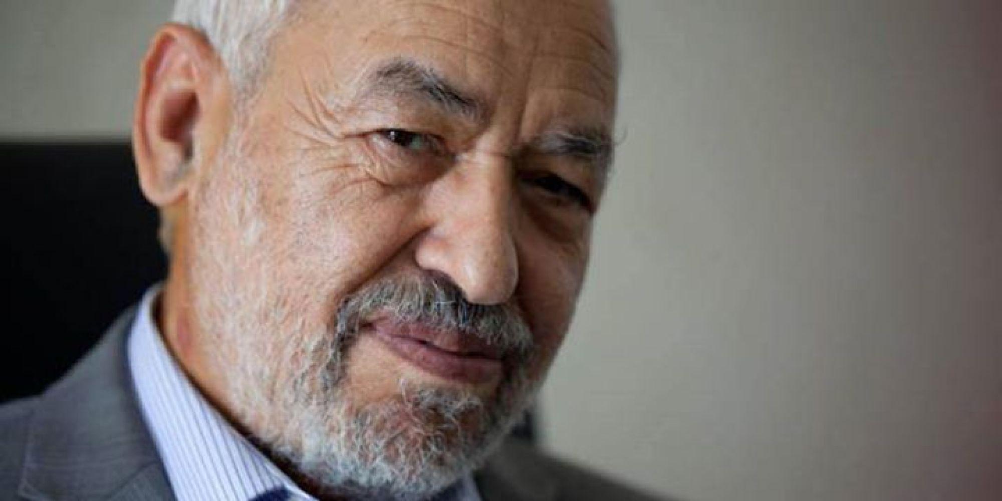 رئيس حزب النهضة التونسي راشد الغنوشي