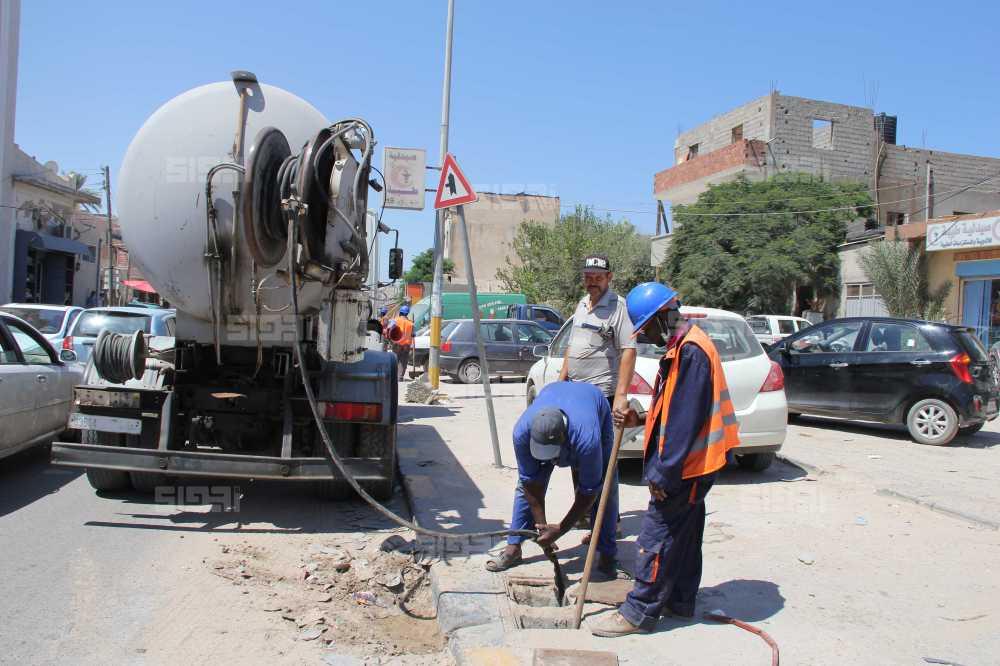 المياه والصرف الصحي في ليبيا