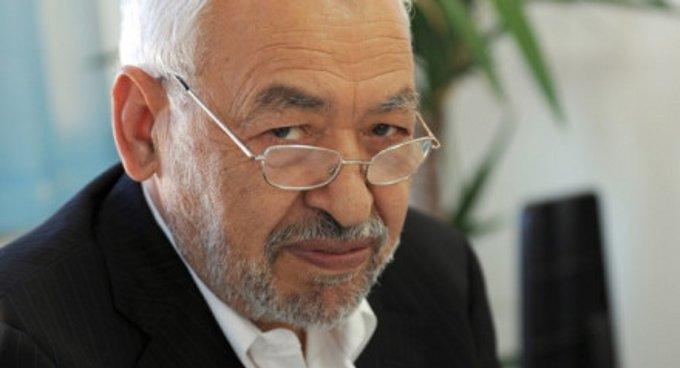 """رئيس حركة """"النهضة التونسية راشد الغنوشي"""