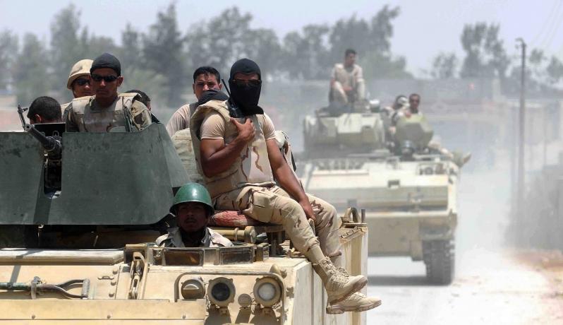 """صورة """"أعماق"""": داعش نفّذ هجوما ضد الشرطة المصرية بسيناء"""