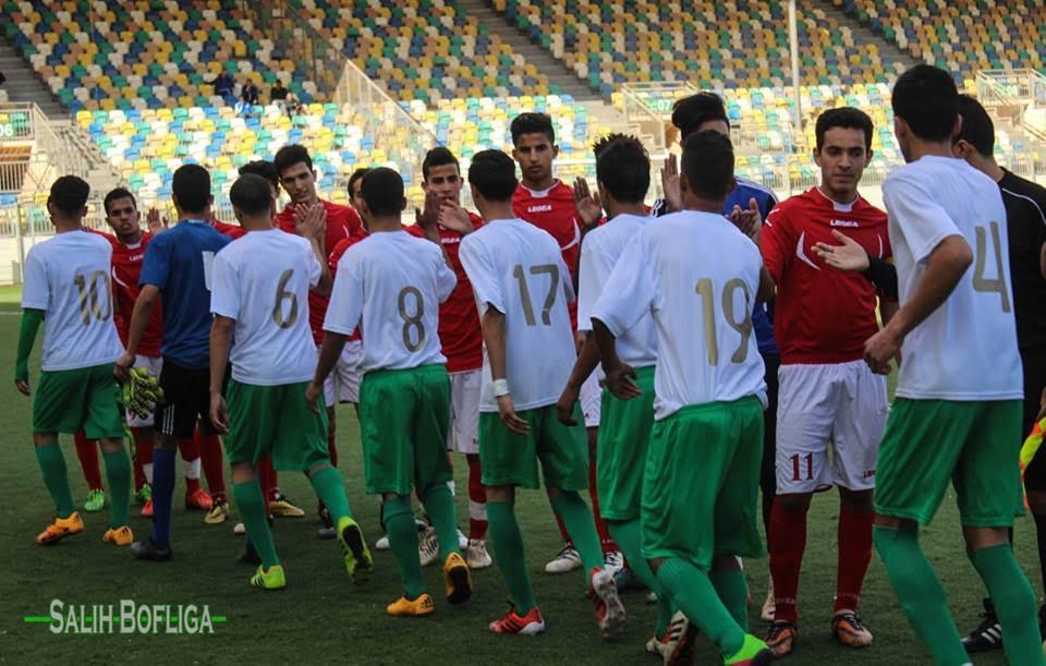 صورة أواسط الأهلي بنغازي والأخضر يتعادلان وديا