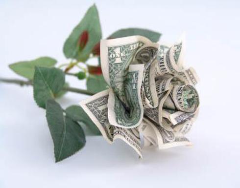 باقة نقود
