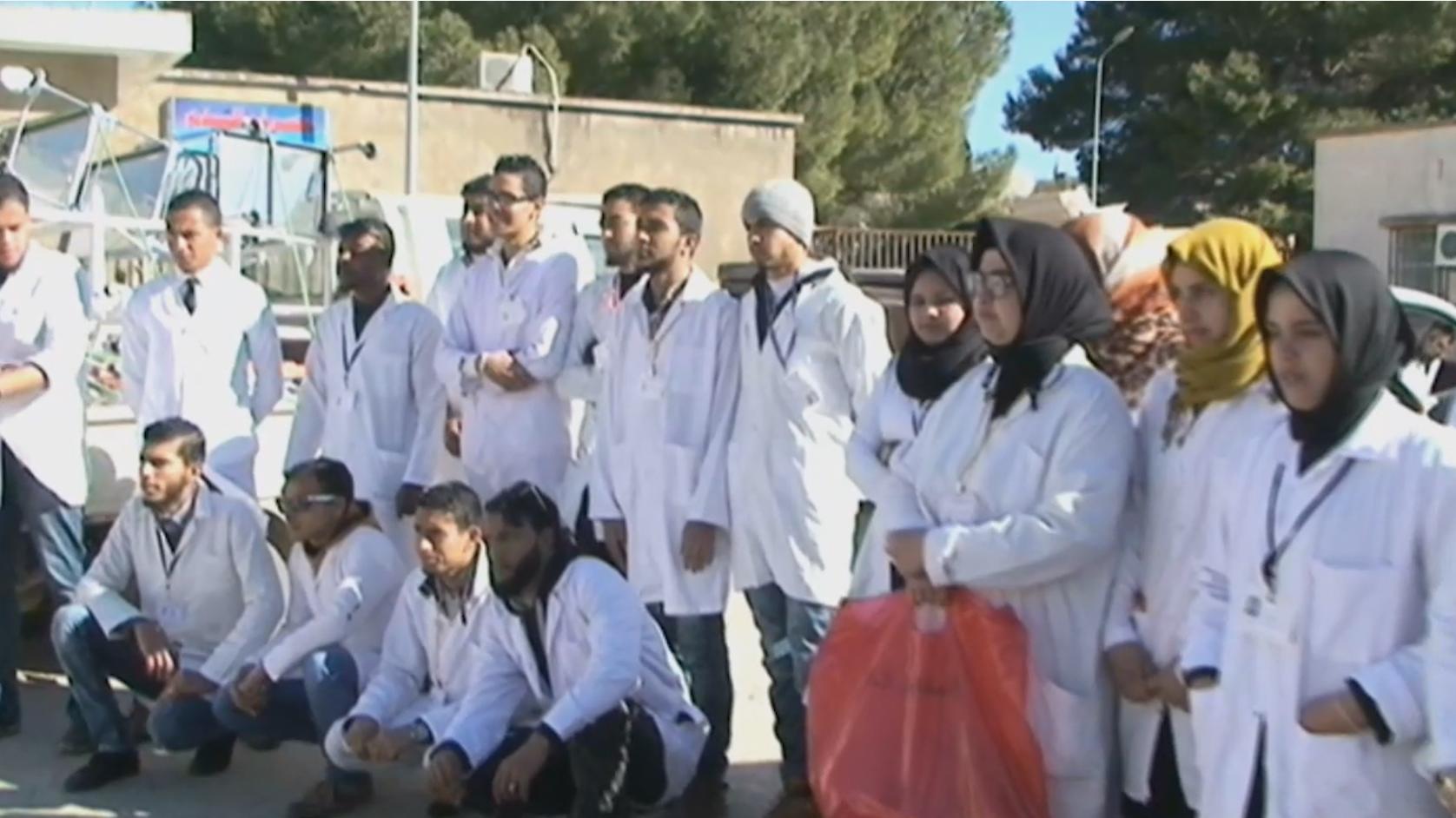 """صورة """"أنقذوا مرضانا"""" في البيضاء تجمع 30 ألف دينار"""