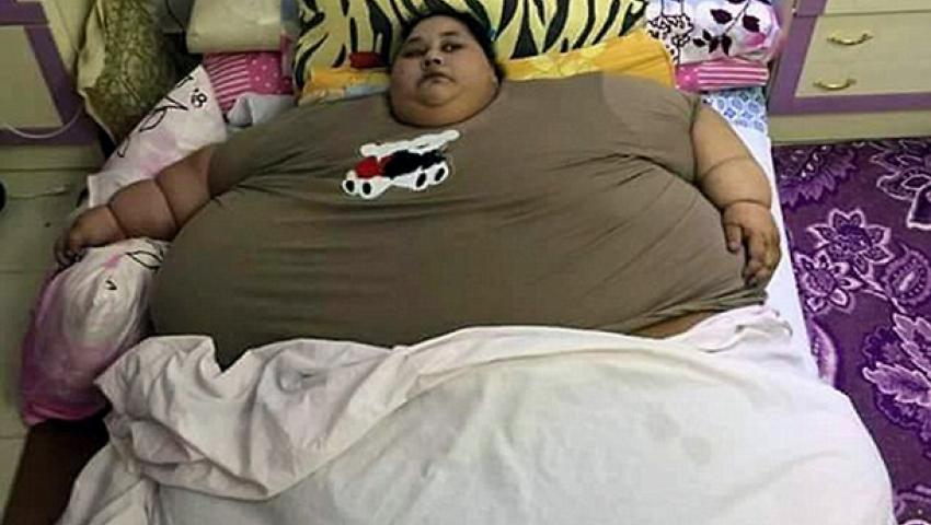 أكثر امرأة وزنا