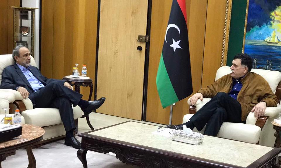 """Photo of ملفات أمنية وسياسية على طاولة """"السراج والسويحلي"""""""