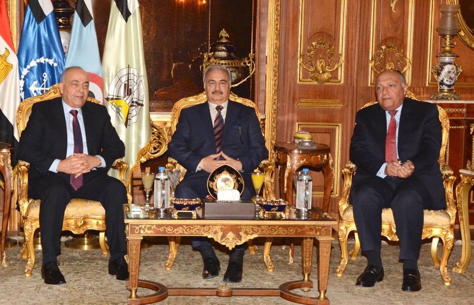Photo of مصر تكشف نقاط الاتفاق بين عقيلة وحفتر والسراج