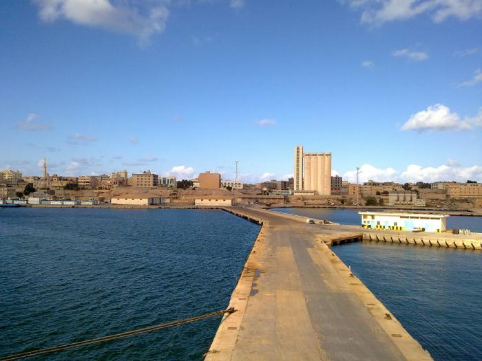 صورة ميناء طبرق يستعد لتصدير 3 آلاف طن خردة