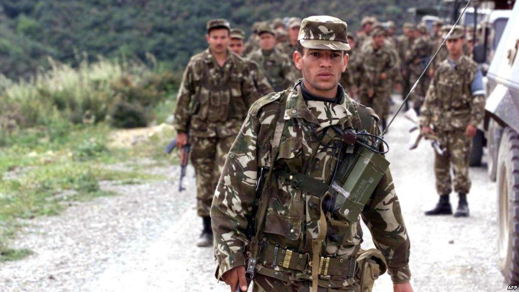 قوات عسكرية جزائرية