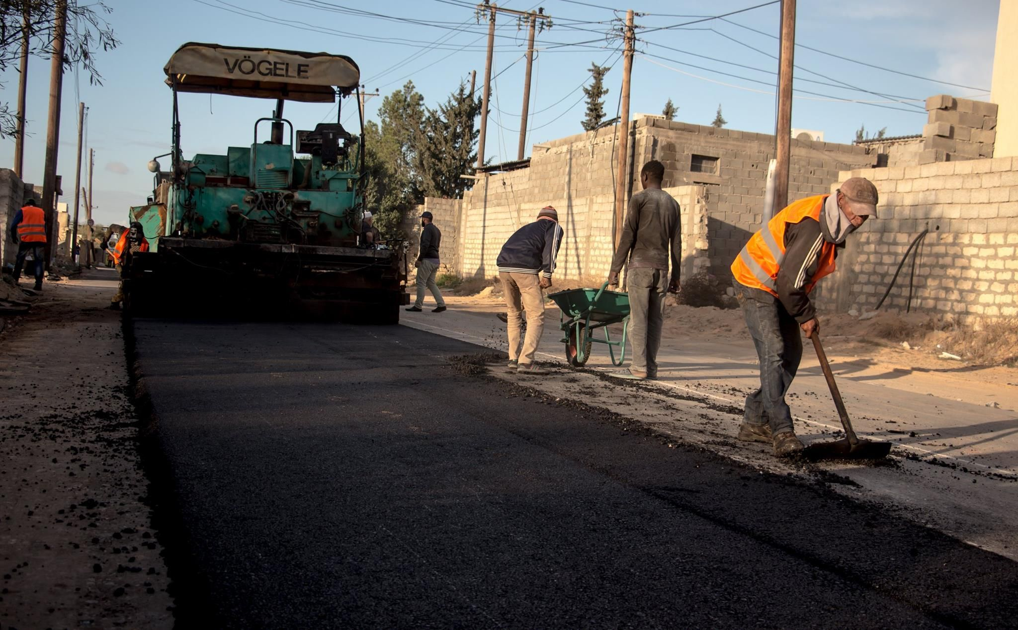 صيانة الطرقات