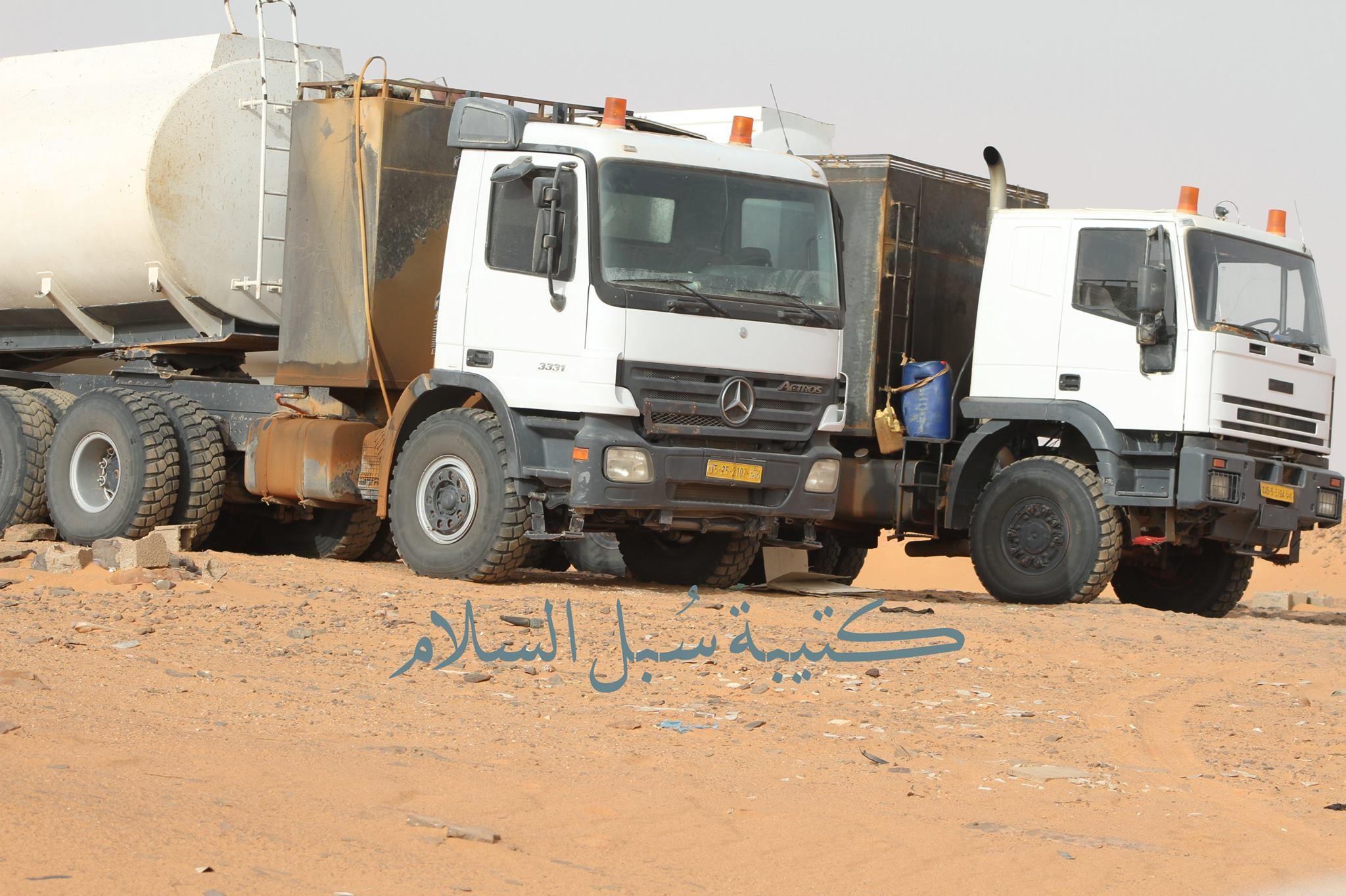 الجيش يضبط عصابة تُهرّب الوقود من ليبيا إلى تشاد