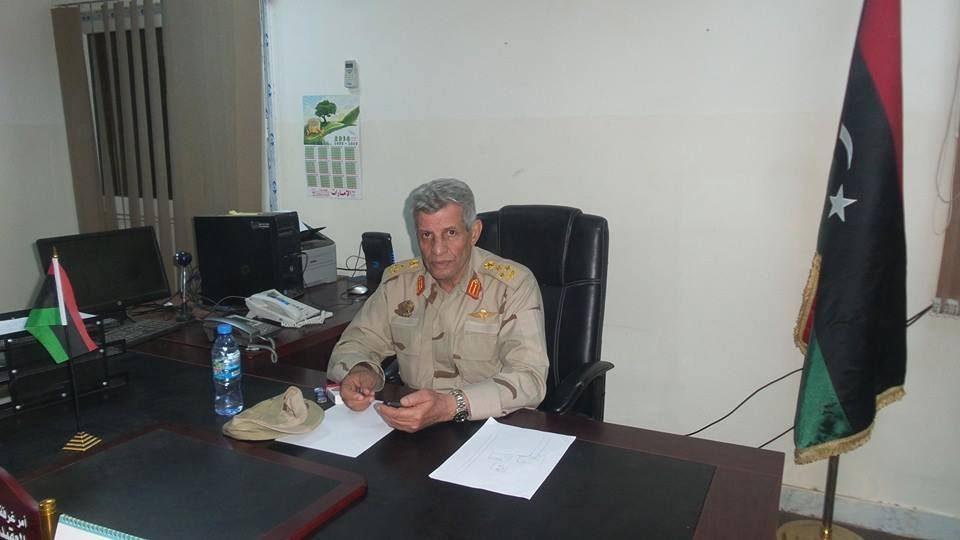 آمر غرفة عمليات الكرامة اللواء عبد السلام الحاسي