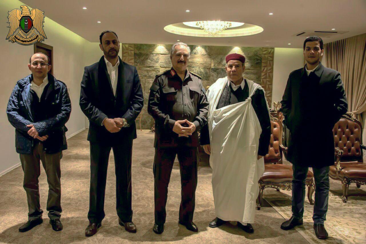 "Photo of ""المغاربة"" تُجدّد الدعم للجيش الوطني.. والمشير حفتر"