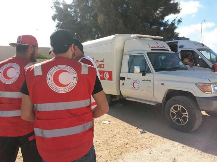 Photo of الهلال الأحمر يوضح حول اقتحام مقره بطرابلس