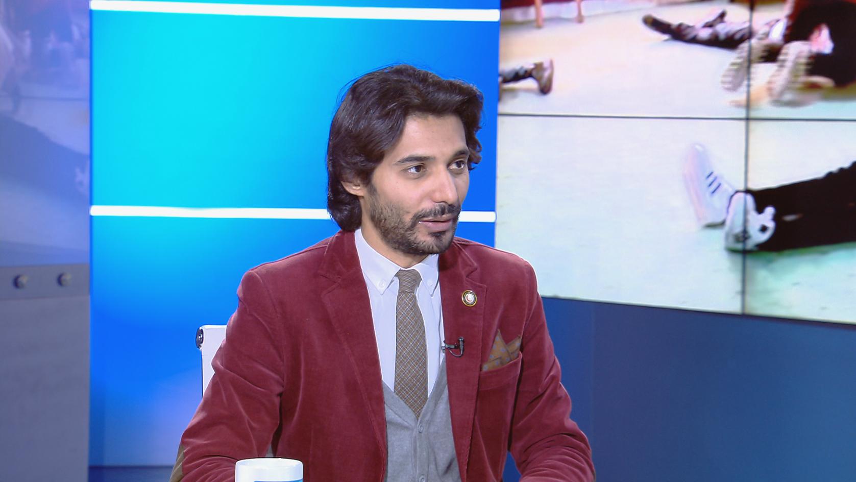 مدير إدارة الإعلام بأمانة الهلال الأحمر الليبي بهاء الكواش