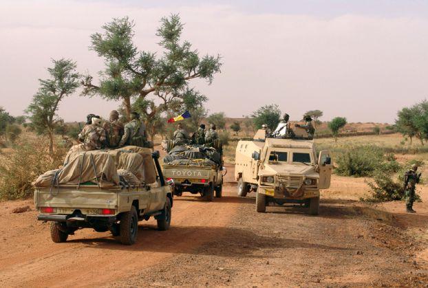 حدود تشاد وليبيا