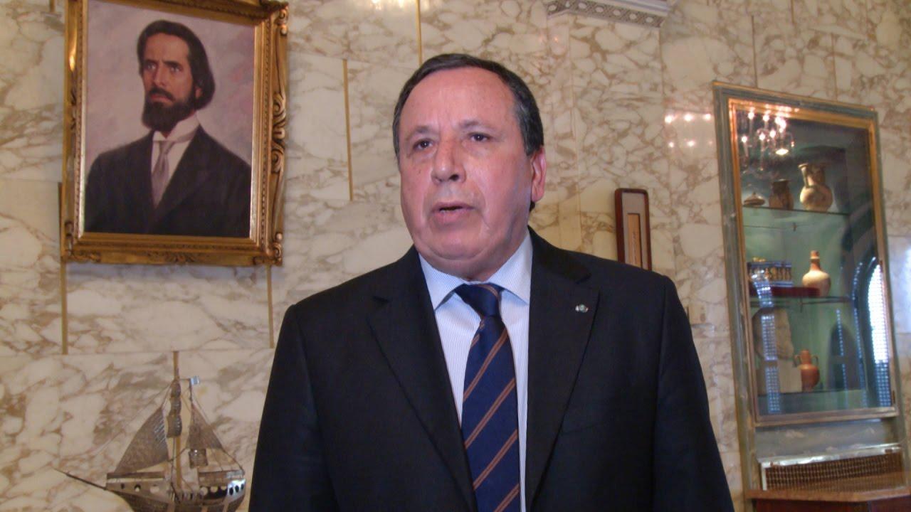 وزير الخارجية التونسي خميس الجهيناوي