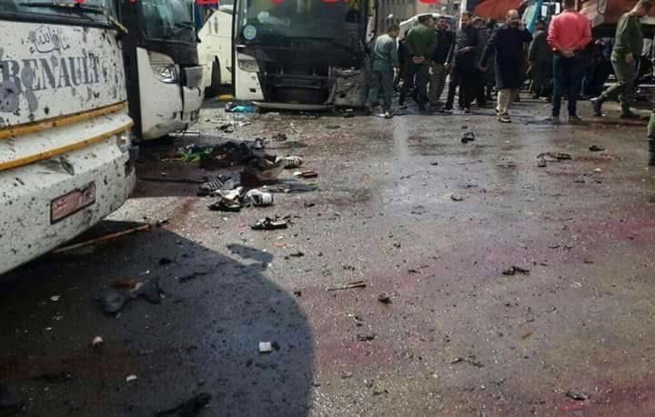 """Photo of عبوتان ناسفتان """"انفجرتا"""" في دمشق.. وقتلتا 30"""
