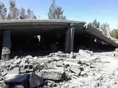 ضربة جوية لمقر قمة إرهابية بمزرعة في النوفلية