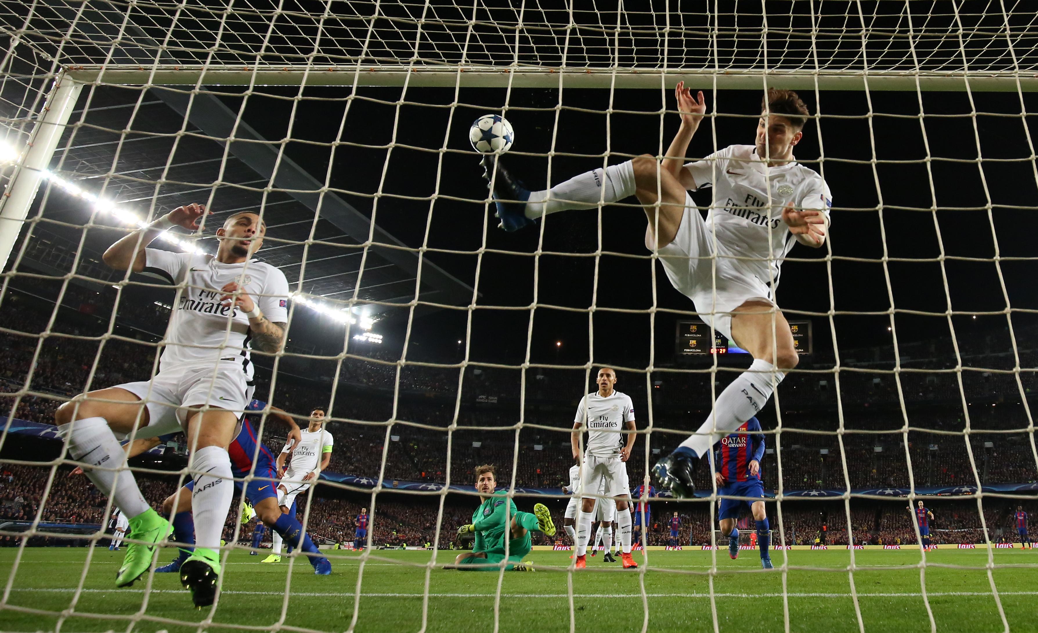 هدف برشلونة في باريس سان جيرمان