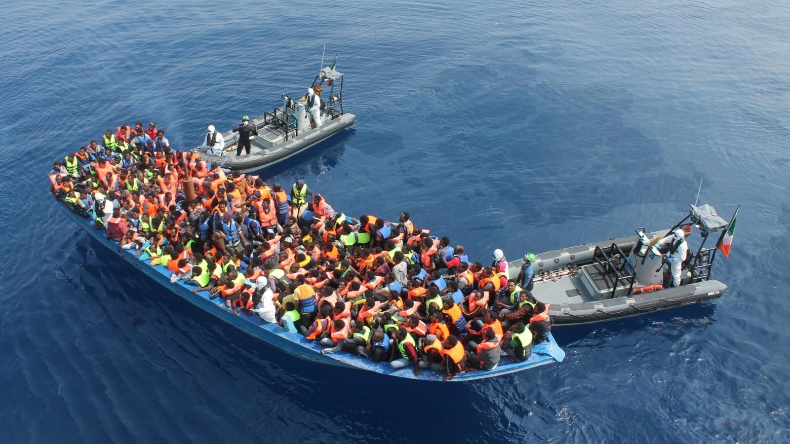 خفر السواحل الإيطالي
