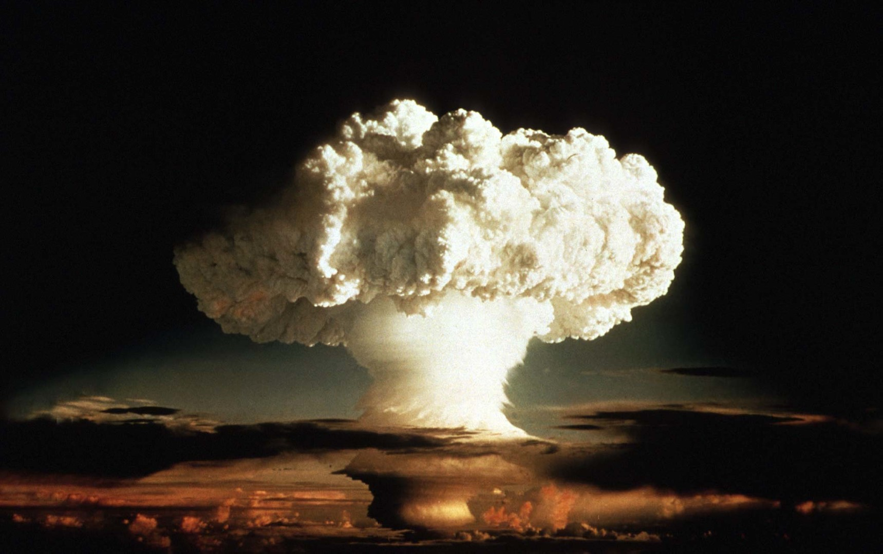 تجربة نووية