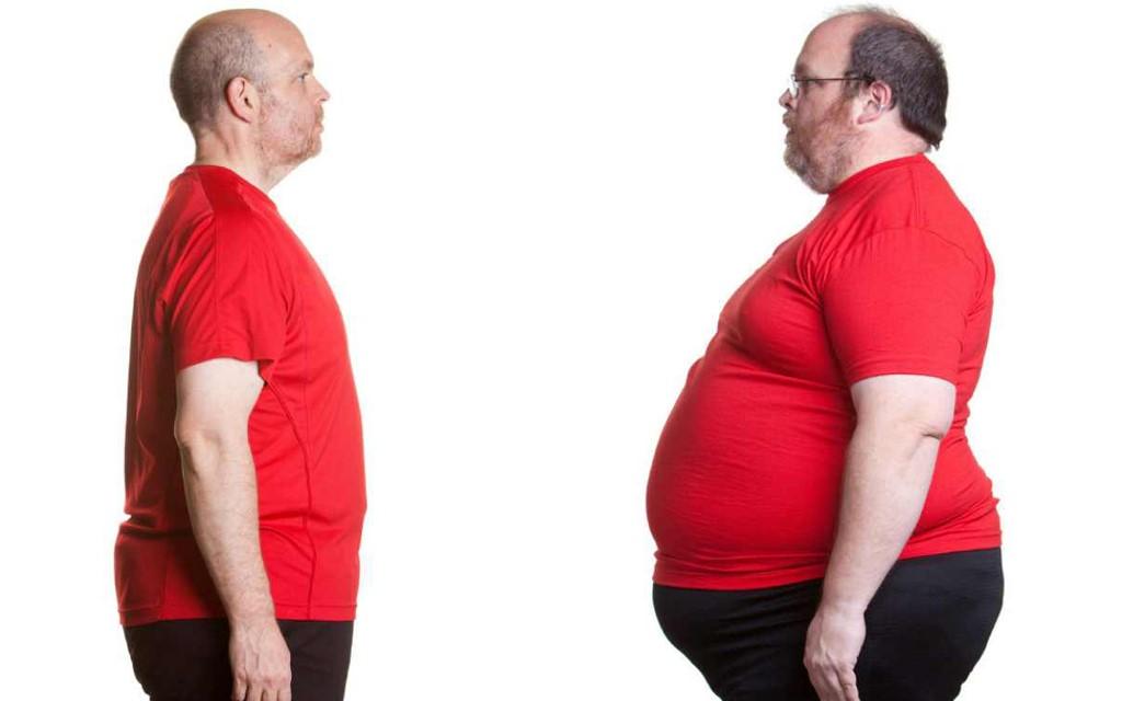 ظاهرة زيادة الوزن
