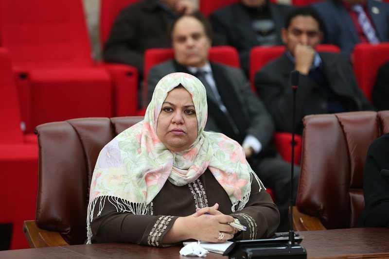 عضو الهيئة التأسييية لصياغة الدستور نادية عمران
