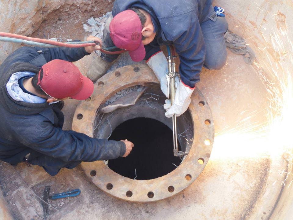 أعمال الصيانة للمحطة رقم (368)