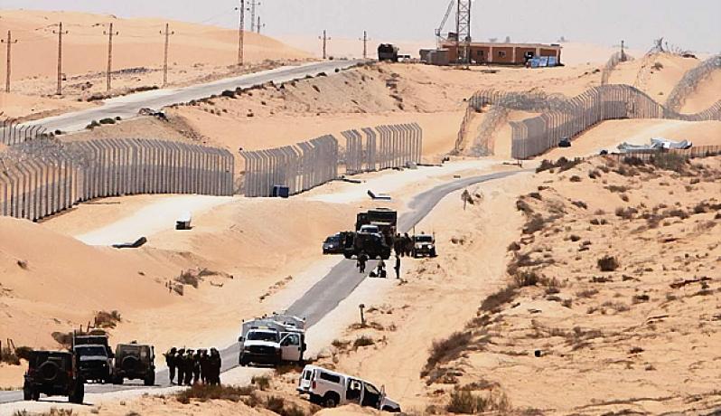 الحدود المصرية الليبية