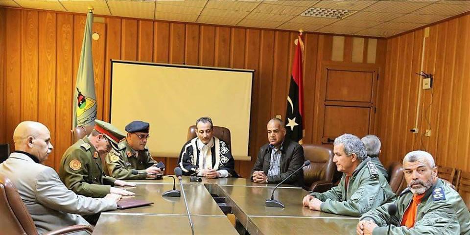 "Photo of ""عين البرغثي"" على تفعيل كلية مصراتة الجوية"