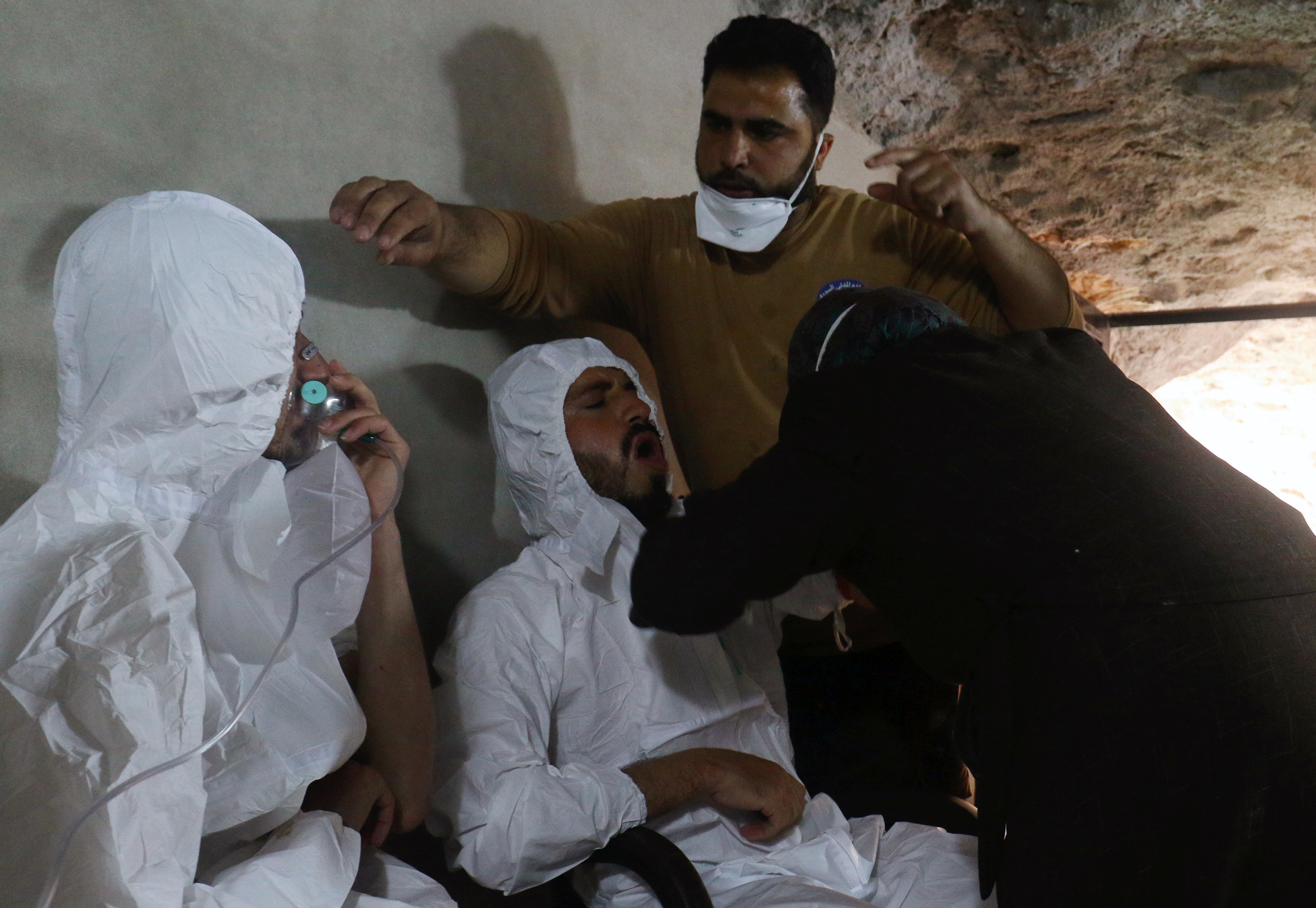 سوريا - قصف الغاز السام