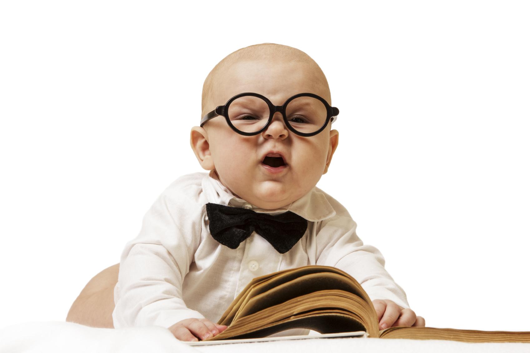 طفل ذكي
