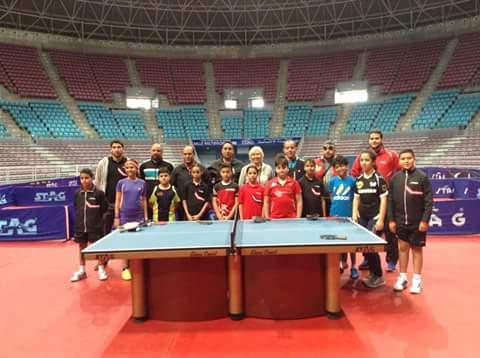 "Photo of البطل الليبي ""حريز"" ضمن اختيارات الاتحاد الدولي لكرة الطاولة"