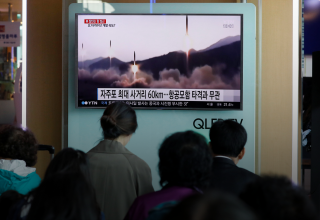 كوريا الشمالية تُرْعِب العالم بصاروخ فاشل