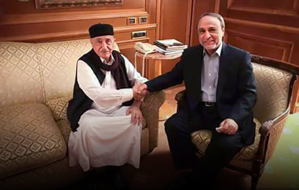 """Photo of عقيلة والسويحلي.. """"لقاء النقيضين"""" بعد الظن أن لا تلاقيا"""