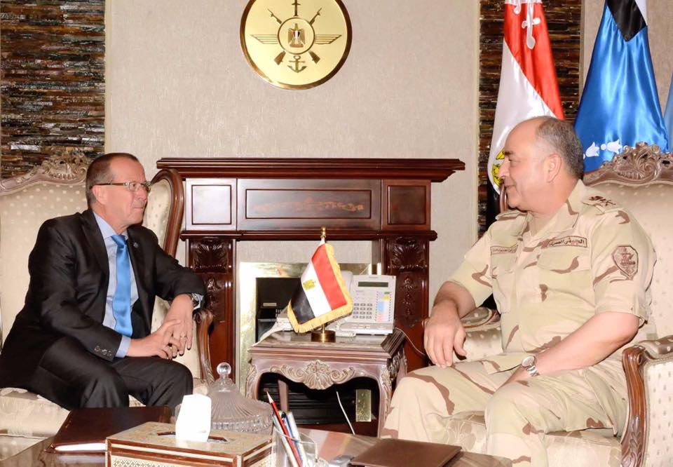 """صورة مصر تؤكد على """"الثوابت الوطنية"""" الليبية لحل الأزمة"""