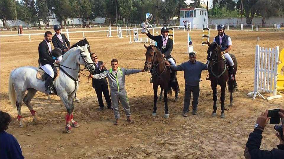 منتخب الفروسية يحصد المراكز الأولى في بطولة تونس