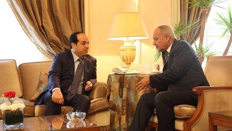 "Photo of تنفيذ ""اتفاق الصخيرات"" على طاولة معيتيق وأبو الغيط"