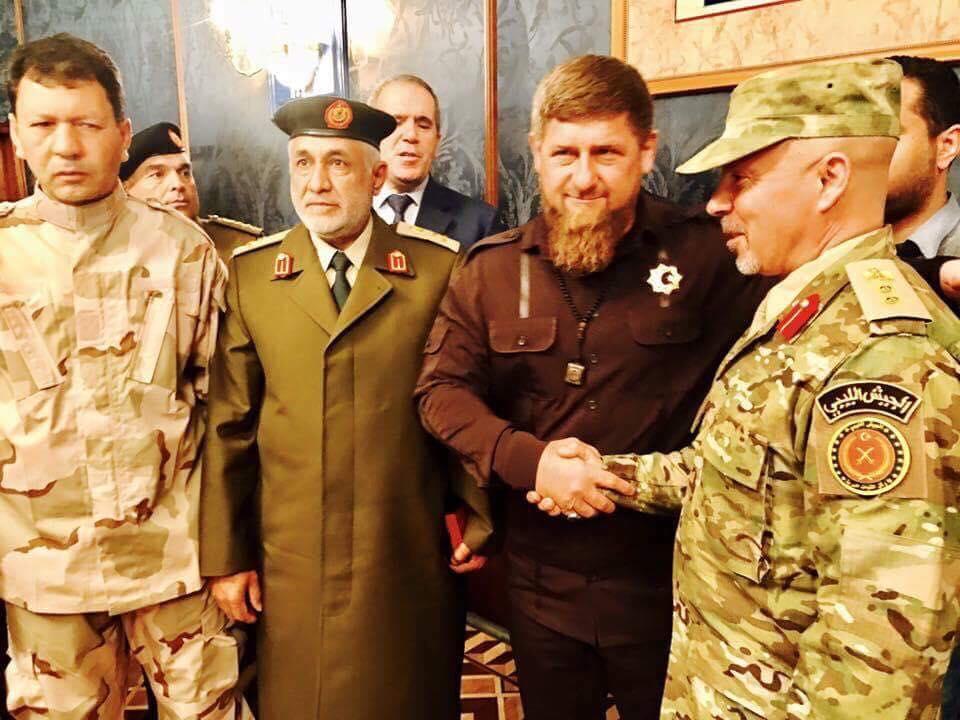 "Photo of ""البنيان المرصوص"" ينقل ""الصورة الليبية إلى الشيشان"