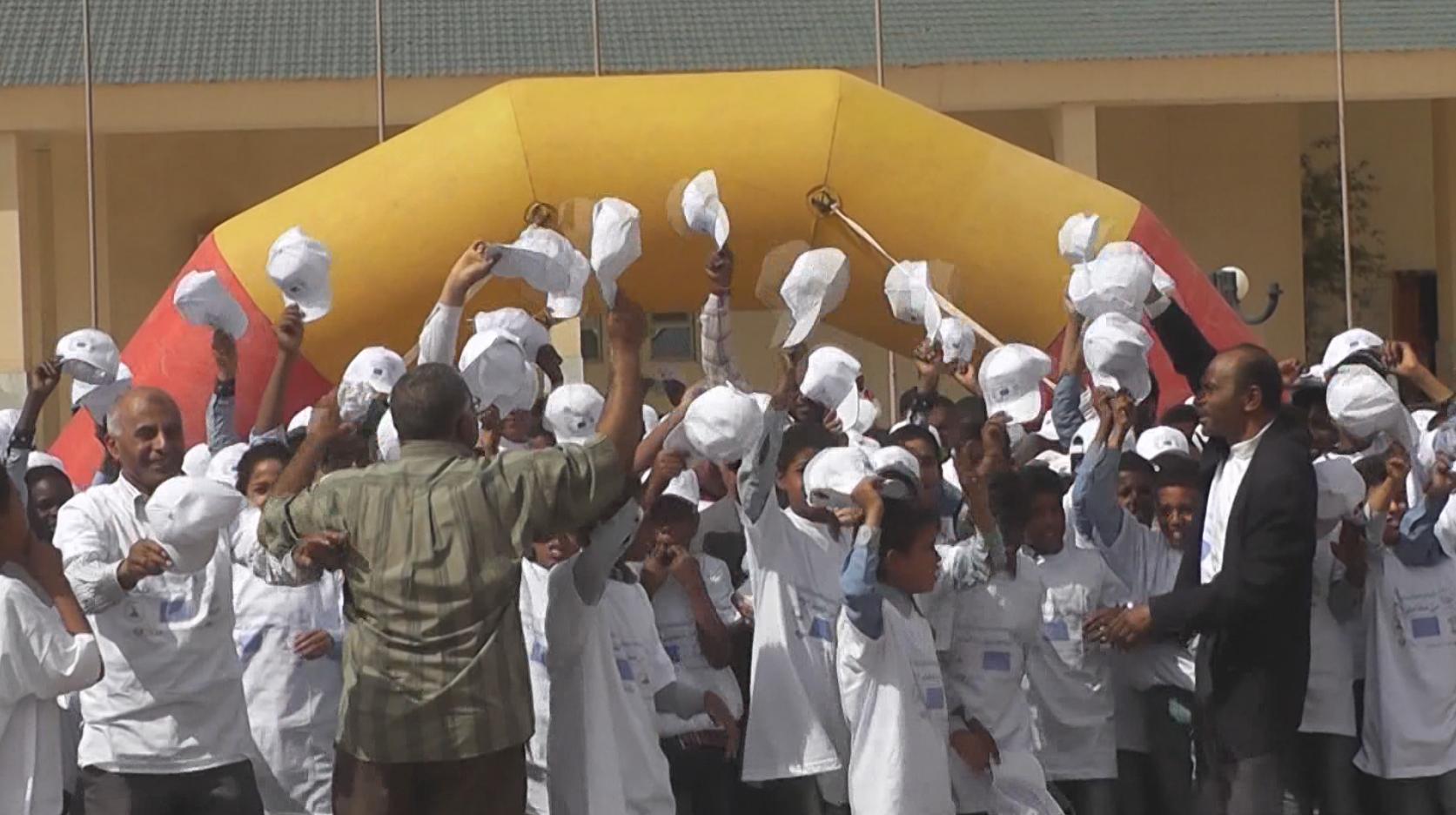 "Photo of ""رسالة تسامح"" باحتفال سبها في يوم التوعية من الألغام"