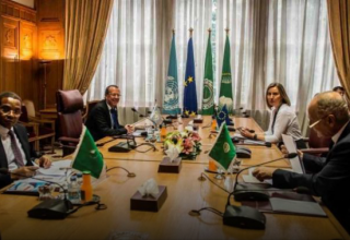 المجموعة الرباعية حول ليبيا