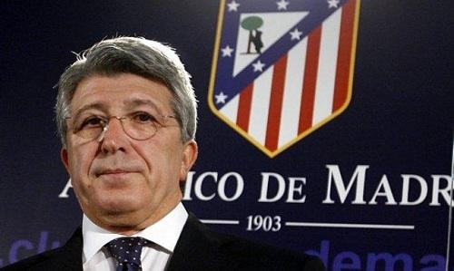 رئيس أتلتيكو مدريد، إنريكي سيريزو
