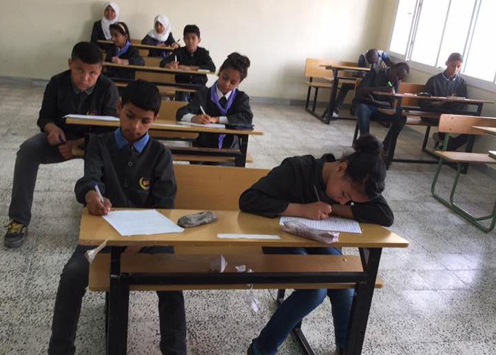 مدارس الجفرة تبدأ امتحانات نهاية العام لـمرحلة النقل