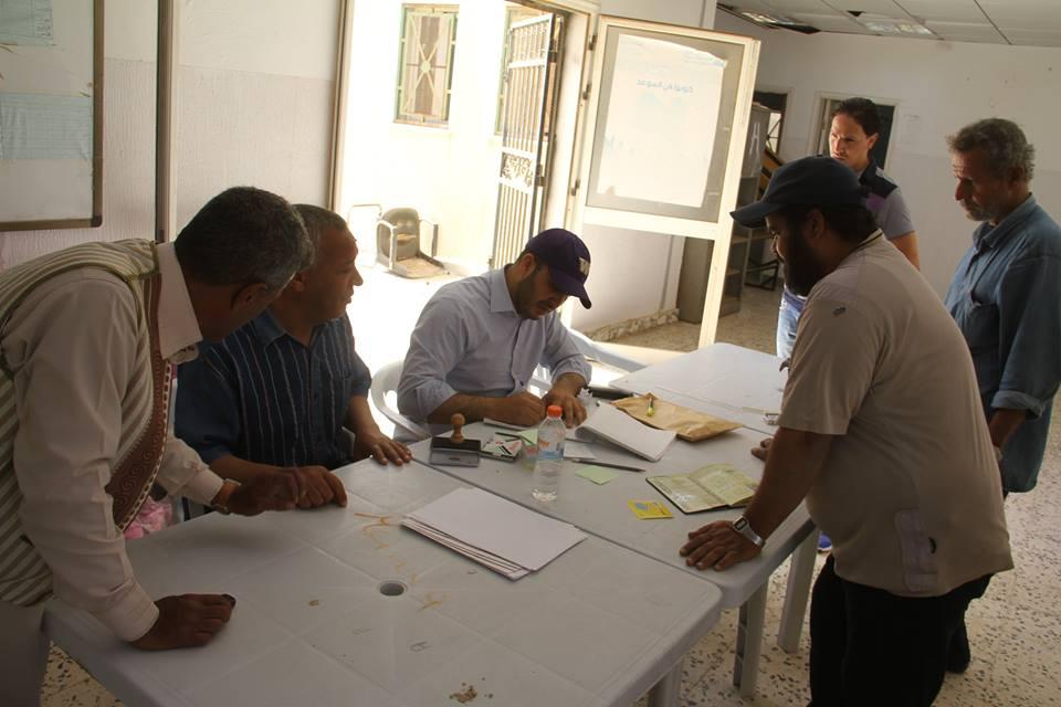 مساعدات إنسانية دولية إلى عائلات في الجيزة- سرت