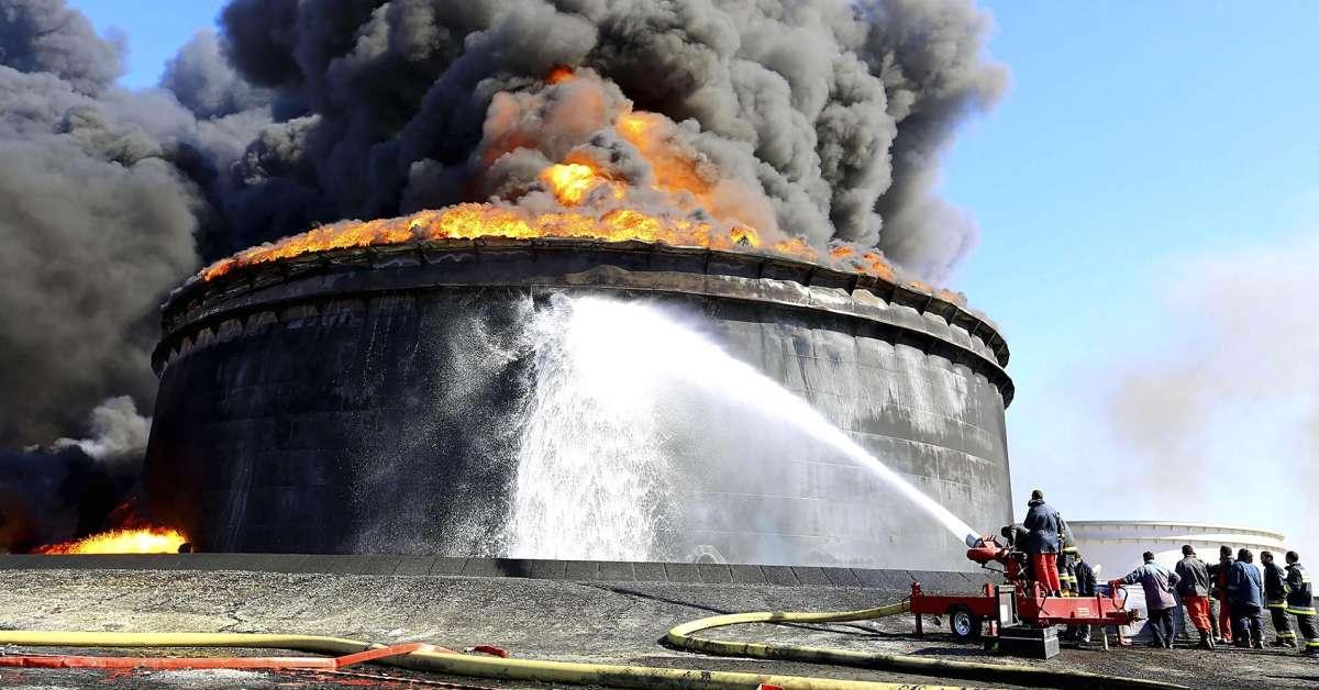 حقل النفطي الليبي