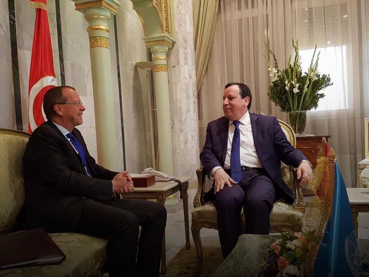 """Photo of """"حراك دبلوماسي"""" في تونس بشأن حل أزمة ليبيا"""