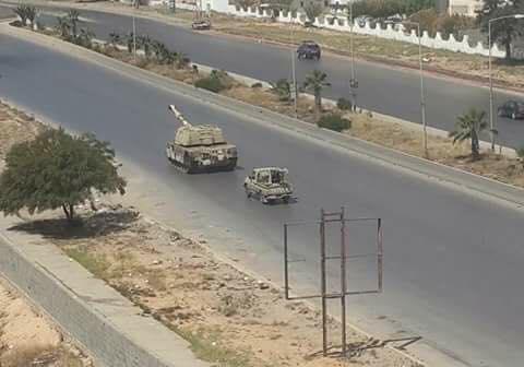 """صورة """"الأعلى للمصالحة"""" يطالب بوقف فوري للقتال في طرابلس"""