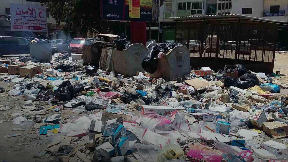 القمامة في بنغازي
